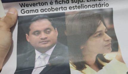 Pessoas são detidas distribuindo jornal-panfleto contra Weverton e Eliziane