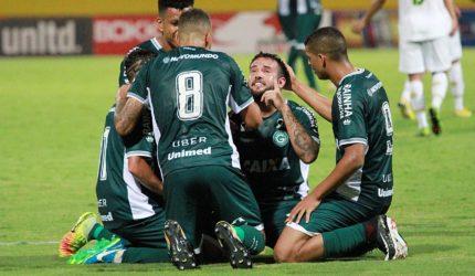 Sampaio perde para o Goiás e risco de rebaixamento aumenta