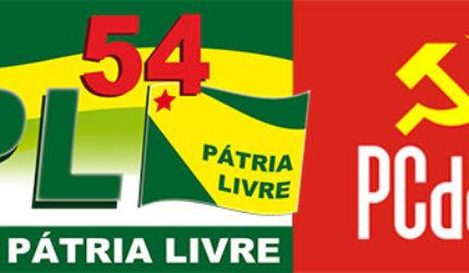 PPL e PCdoB tratam sobre fusão partidária