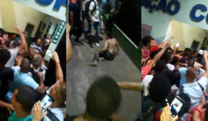 Suspeito de ejacular em mulher é linchado no Terminal da Cohab