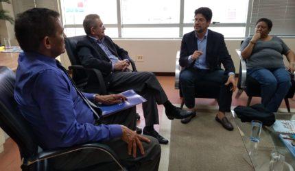 Em visita ao Imparcial, Felipe de Holanda apresenta Sistema Estadual de Informações