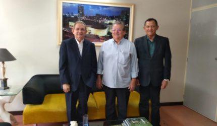 Raimundo Sousa, presidente eleito do Sebrae, visita Grupo O Imparcial
