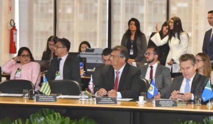Governadores debatem segurança e entregam carta a Sérgio Moro
