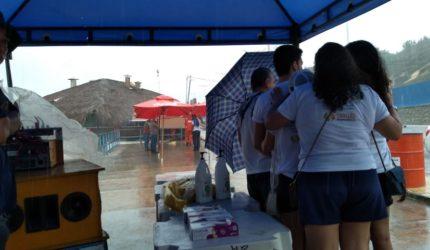 Forte chuva impede Dia D de Limpeza de Praia em São Luís