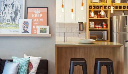 Dicas para decorar seu apartamento de menos de 50m²