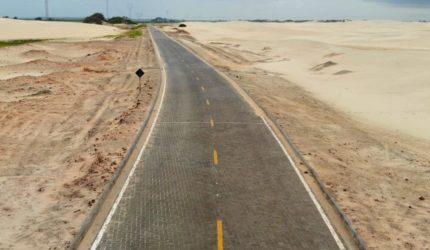 Governo inaugura oficialmente a rodovia MA-315, que liga Paulino Neves a Barreirinhas
