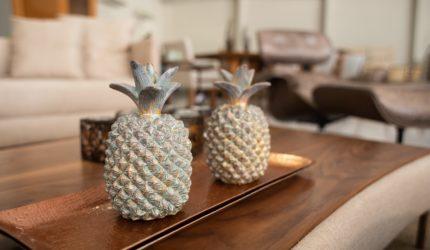 Escolha objetos de decoração que tenham sua personalidade