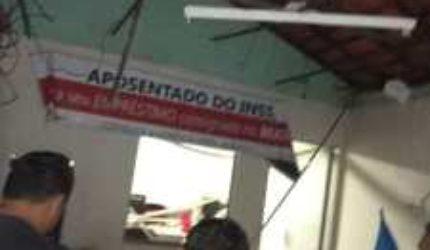 Criminosos explodem caixa eletrônico em Santana do Maranhão