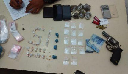 PM desarticula ponto de venda de drogas em Imperatriz