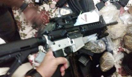 Polícia apreende explosivos e armamento de grosso calibre em Açailândia