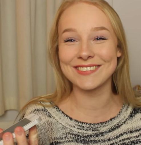 Youtuber holandesa falando maranhês