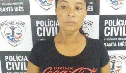 Mulher suspeita de embriagar criança é presa em Santa Inês