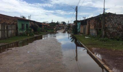 Inundação em Pinheiro recua 60cm e famílias já retornam às suas casas