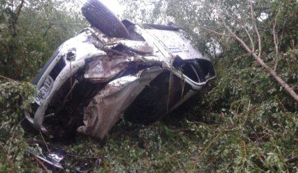 Superintendente da Codevasf sofre acidente na BR 222, no Maranhão