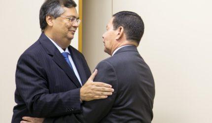 General Mourão recebe o Governador Flávio Dino em Brasília