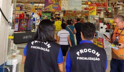 Procon/MA intensifica fiscalizações em supermercados da Ilha