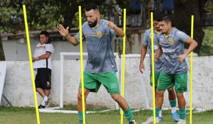 Sampaio Corrêa faz mistério e treina com portões fechados