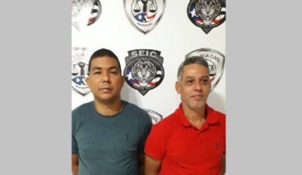 Suspeitos de arrombar instituições financeiras são apresentados pela polícia
