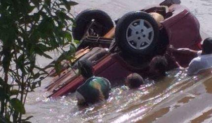 Carro é encontrado dentro de rio com duas pessoas mortas em Axixá
