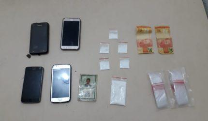Dupla é presa por suspeita de tráfico de drogas no Maranhão