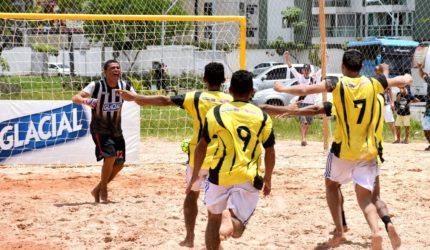 Humberto de Campos é campeã do Maranhense de Beach Soccer