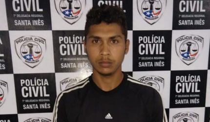 Acusado de latrocínio é preso no interior do Maranhão
