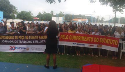 Professores de Paço do Lumiar estão em greve