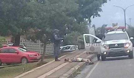 Checamos: Homem morto na calçada da UFMA?