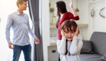 Pais separados: filhos e sofrimento