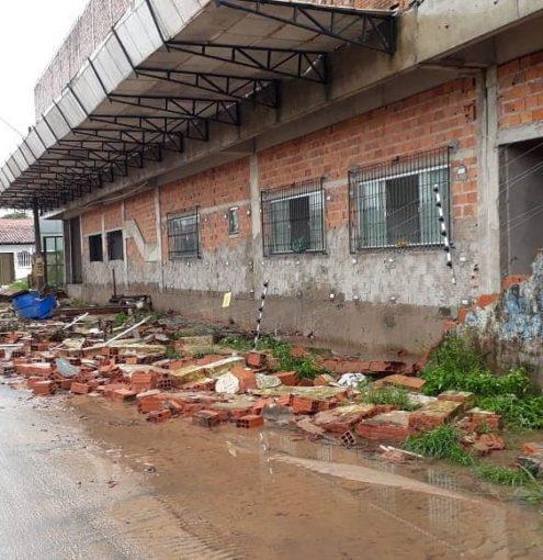 População avalia estragos da chuva
