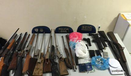Armas são apreendidas em município do interior do Maranhão