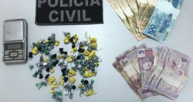 Homem é preso em flagrante por tráfico de drogas em São Luís