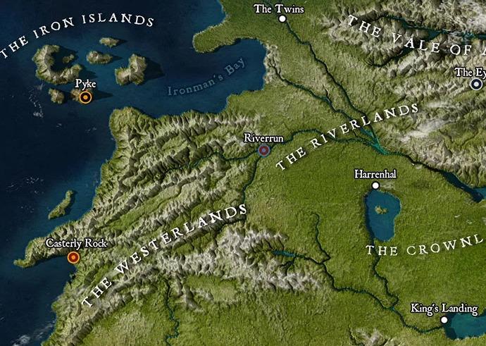 Brasileiro Cria Mapa De Game Of Thrones Em Alta Definição O Imparcial
