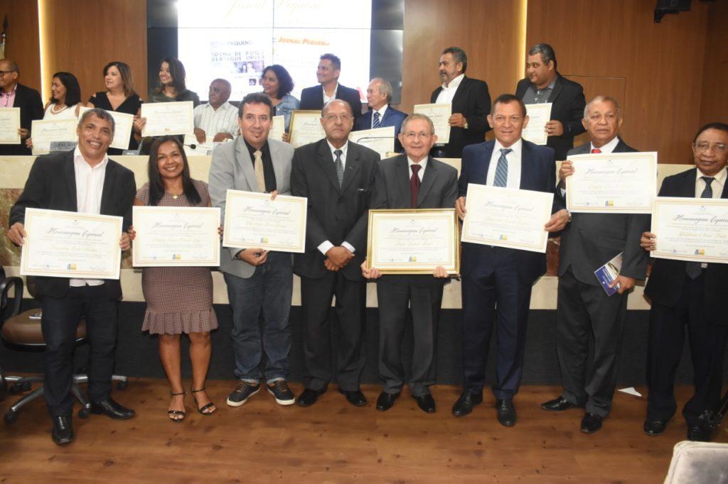 Grupo O Imparcial recebe  homenagem na Câmara de São Luís