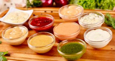 Como fazer 3 molhos para saladas e sanduíches