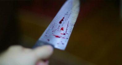 Durante discussão, mulher atinge rosto de companheiro com golpe de faca