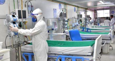 Taxa de ocupação de leitos de covid-19, cai para 84% em São Luís