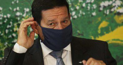 """""""Eu vetaria"""" diz Mourão sobre fundo eleitoral de quase R$ 6 bilhões"""