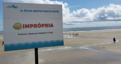 Veja pontos das praias de São Luís estão impróprios para banho