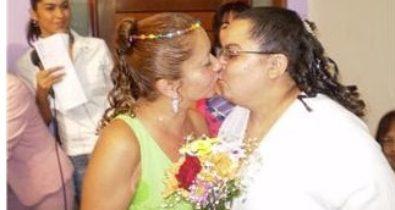 Casamentos gays marcados pela luta