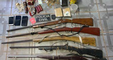 Mais de 1,3 mil pessoas são presas em operações policiais de janeiro a abril no interior do Maranhão