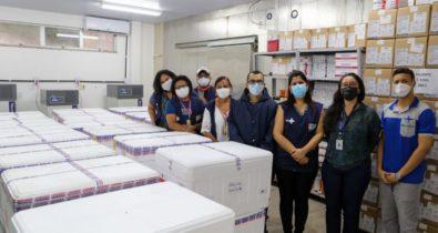 Maranhão recebe mais de 280 mil doses de vacinas contra a Covid-19