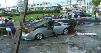 Acidentes envolvendo postes elétricos colocam vidas de pedestres e motoristas em risco
