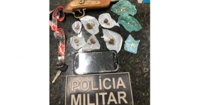 Criminosos são presos com posse de armas e drogas em Arari