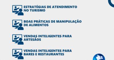 Setur abre inscrições de cursos gratuitos para artesãos, bares e profissionais do turismo