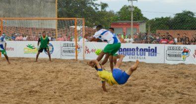 Primeira Cruz goleia Santo Amaro e mantém os 100% no Maranhense de Beach Soccer