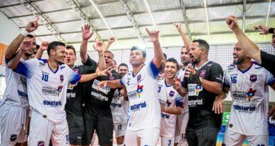 Na raça, Balsas mostra força, despacha o JES e avança na Copa do Brasil de Futsal