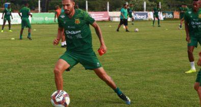 Sampaio anuncia contratação do zagueiro Nilson Júnior