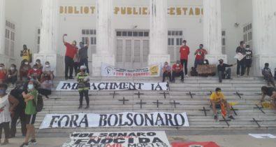 Maranhenses vão às ruas contra Bolsonaro