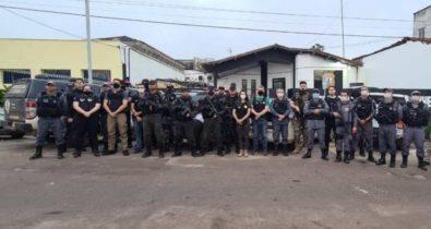 Membros de facção criminosa são presos em Bacuri